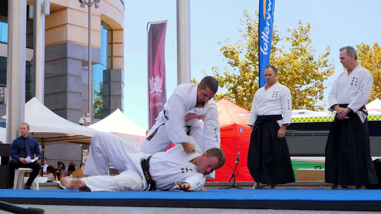 Aikido Martial Arts Yoshinkan Perth Japan Festival Matsuri