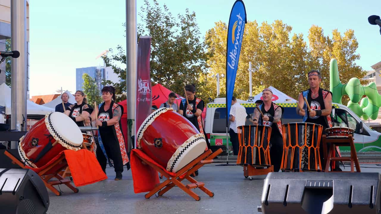 Taiko Do WA Drumming Perth Japan Festival Matsuri Australia