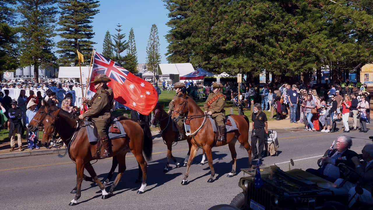Anzac Day March Fremantle 2018 Western Australia