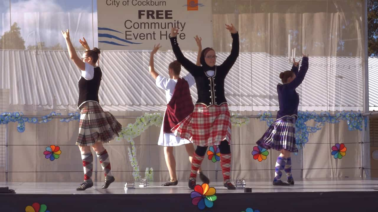 Scottish Highland Dance Cockburn Cultural Fair Australia