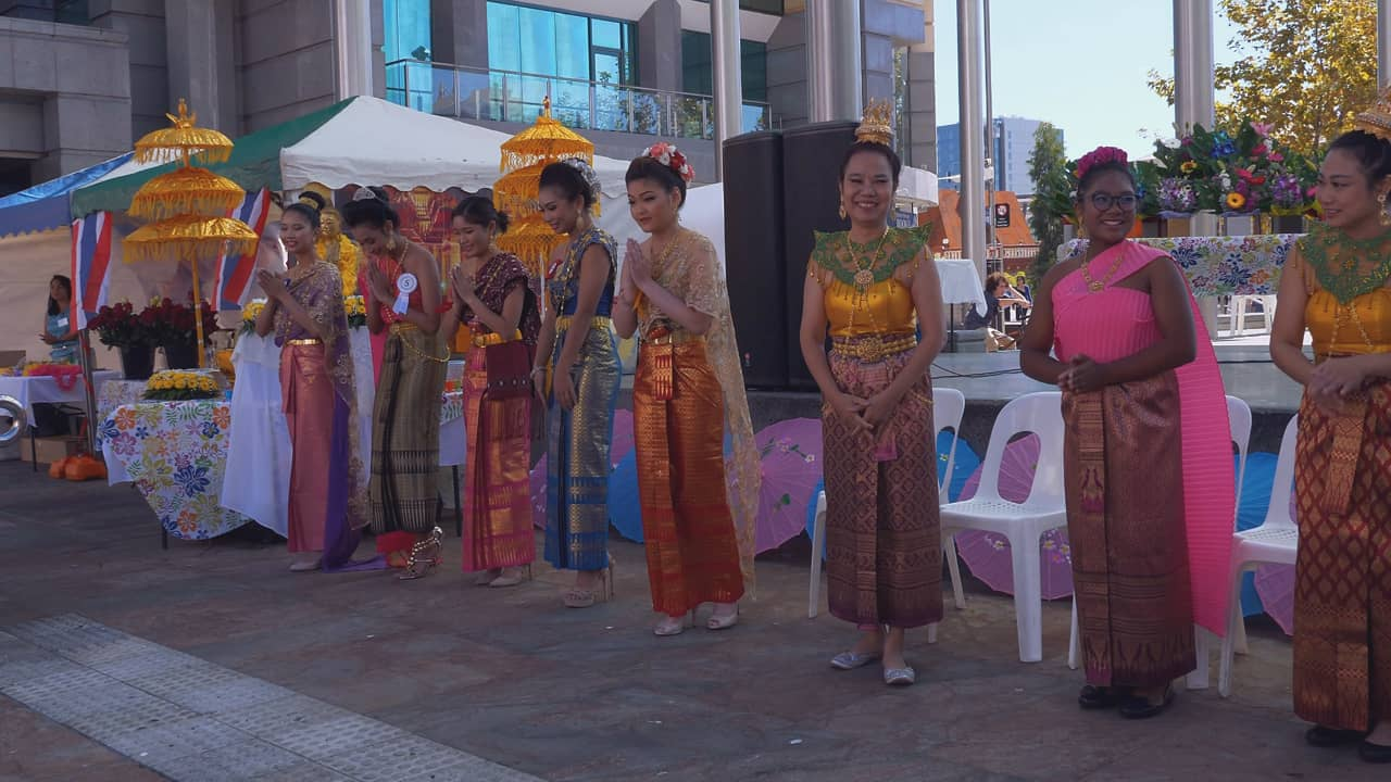 Songkran Traditional Dance Festival Perth Australia