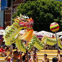 Dragon Dance at Wanneroo Festival