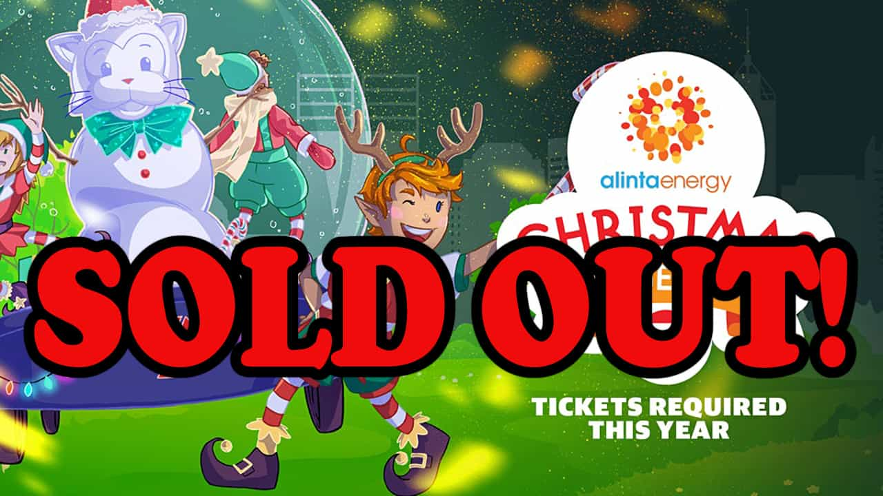 The 2020 Alinta Energy Christmas Pageant Sold Out within seconds