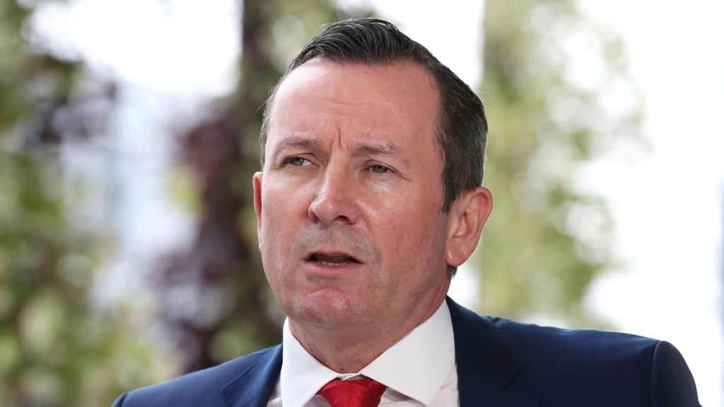 WA hard border stay until Saturday Mark McGowan said