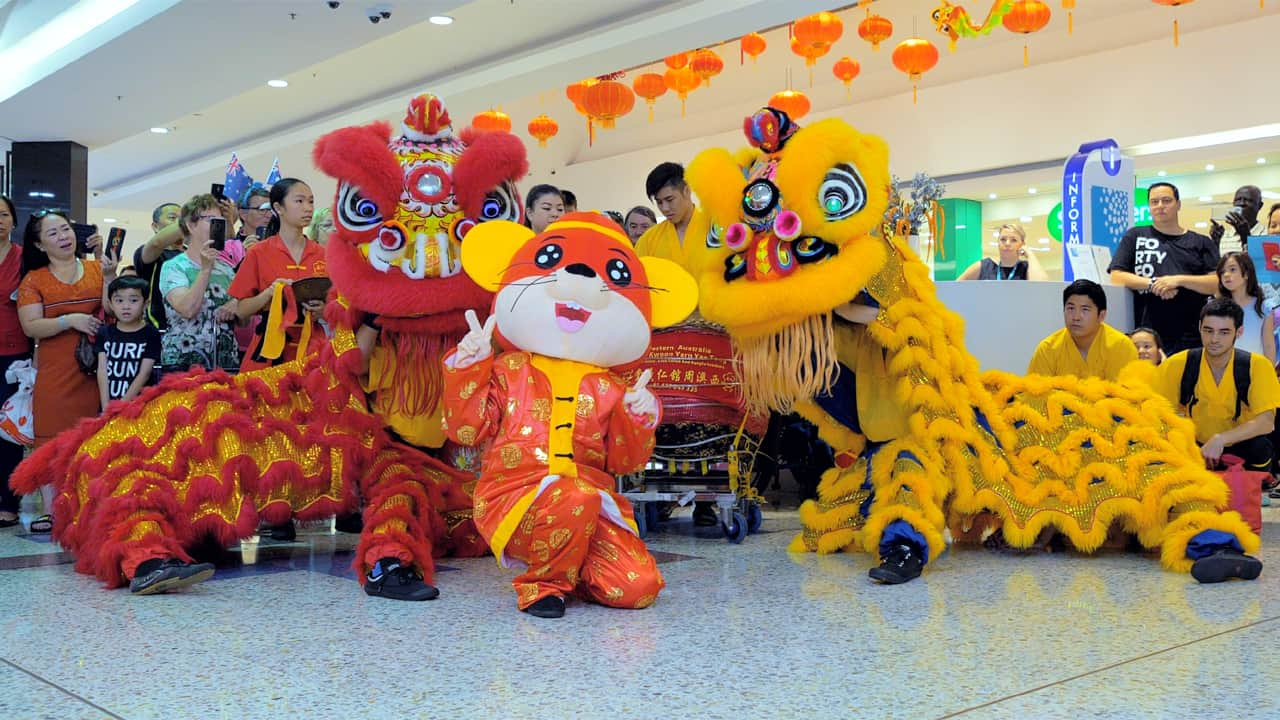 Chinese new year of the Rat celebration report