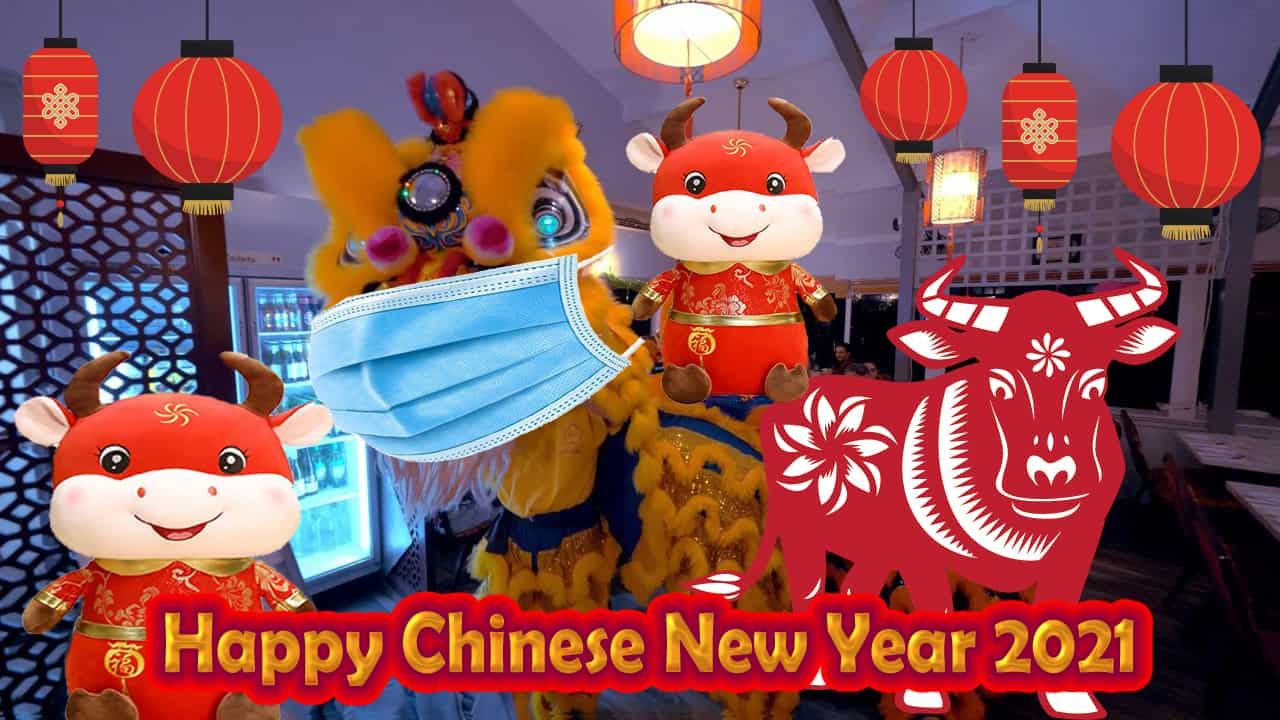 Happy Chinese New Year of the OX Spring Festival 2021